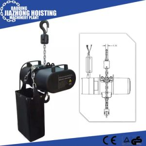 China Manufacturer Competive Quality 2ton Stage Electric Hoist