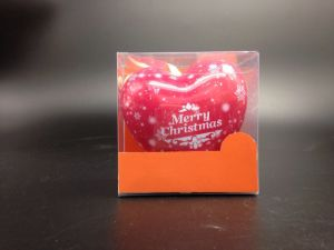 Heart-Shaped Metal Tin Packaging Keepsake Box/Souvenir Container (H001-V3)