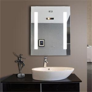 5 Star Hotel Wall Hanging Fog Free LED Bathroom Mirror