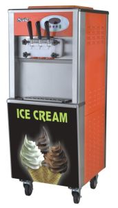 Factory Price 2+1mixed Flavours Commercial Ice Cream Machine pictures & photos