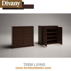 Fancy Design Modern Wooden Coffee Table/Wine Cabinet with a Shelf pictures & photos