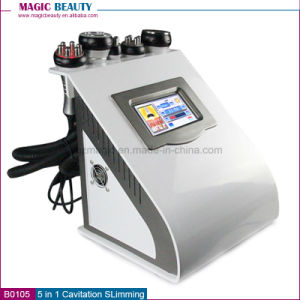 B0105 5 in 1 Whole Cavitation RF Vacuum Weight Loss Body Slimming Machine for Sale pictures & photos
