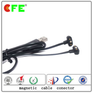 2pin Magnetic Cable Connector with 4plug pictures & photos