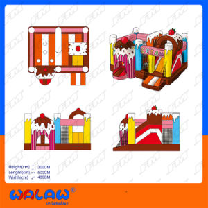 New Design Inflatable Air Bouncer Inflatable Trampoline pictures & photos
