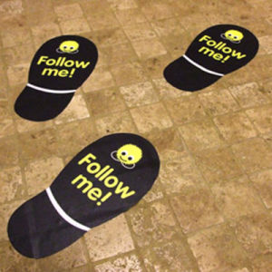 Top Quality Customized Design Durable Floor Decals Printing