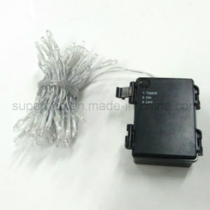 Public Street Decorative LED String Lights with IP44 Battery Case pictures & photos