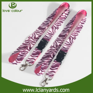Nice Colorful Strap Polyester 20mm Lanyard with Breakaway Buckle