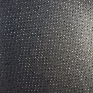 Black PVC Faux Leather for Carseat Cover