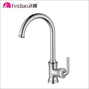 American Style High Class Brass Single Handle Kitchen Faucet