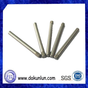 Customized Precision CNC Knurled Stainless Steel Shaft