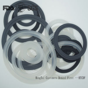 PTFE/Teflon//EPDM/Silicone/Buna /NBR Tri-Clamp Screen Sealing Ring