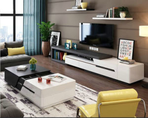 Wooden Coffee Table with TV Stand for Living Room Furniture (1485)