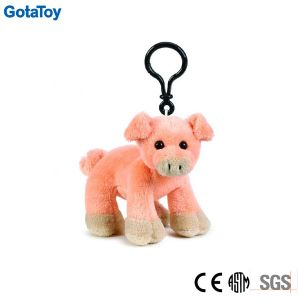 Custom Plush Pig Keychain Stuffed Soft Toy Key Chain