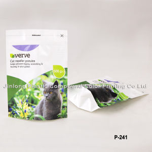 Stand up Packaging Bag for Cat Litter pictures & photos