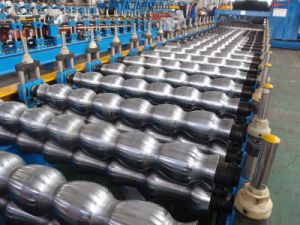 Double Layer Ibr Metal Roof Sheet Cold Roll Forming Machine pictures & photos