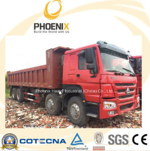 Used HOWO Dump Truck (8X4) 371HP with 40tons Capacity for Africa pictures & photos