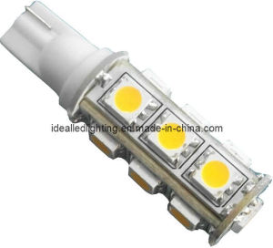 T10 LED 13SMD Car Lamp, 10-30VDC