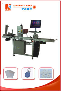 PVC Cards and Smart Cards Laser Engraving Machine/Laser Marking/ Laser Printer