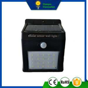 2W Sensor LED Solar Wall Light