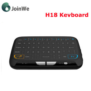 2017 Mini 2.4GHz Keyboard H18 Touchpad for Smart TV Box