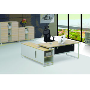 Maple Color MFC Office Executive Desk (MG-089) pictures & photos
