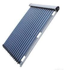 Heat pipe series solar collector