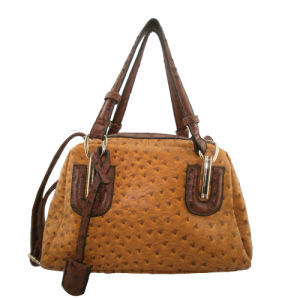e367ad2d7a10 China Faux Leather Handbag for Lady with Ostrich Pattern (JD1076 ...