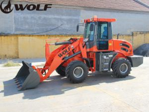 Ce Approved 1800kg 1.8ton Front Loader Wheel Loader Zl18 pictures & photos