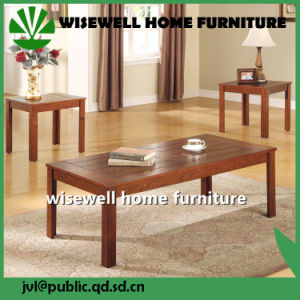Birch Wood 3PCS Living Room Table Set