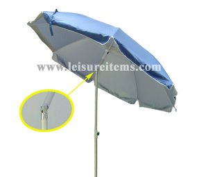 Light Tiltable Aluminum Beach Umbrella (OCT-BUANF01) pictures & photos