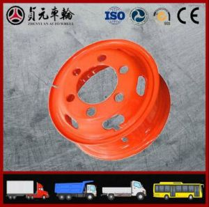Tube Steel Wheel Rim for Truck, Bus, Trailer (8.00V-20 8.50-20 9.00V-20)