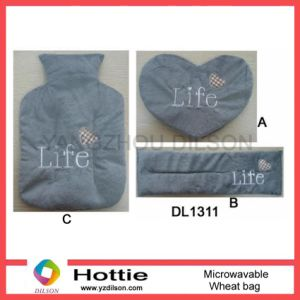 Hot Water Bottle Shape Microwavable Wheat/Buckwheat/Lavender Bags