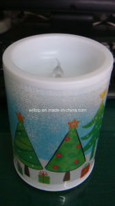 Plastic Holiday LED Light up Candles (LP007) pictures & photos