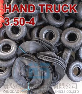 Wheelbarrow Tire and Tube Hand Truck Tyre and Tube Butyl Inner Tube 4.10/3.50-4 pictures & photos