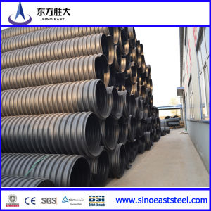 HDPE Double Wall Corrugated Pipe (Dual Socket Sleeve) pictures & photos