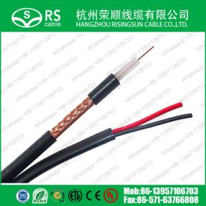 75ohm Rg59 B/U 2X0.5 CCTV Video Coaxial Cable Power Cable