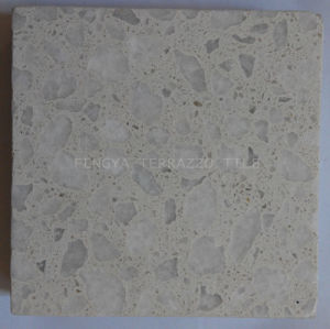 Nature Terrazzo Tile With Size 300X300mm Pebble Paver Glazed Floor Stone
