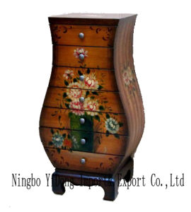 Antique Wooden Furniture Cabinet (C-037)