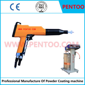 Powder Coating Gun for High Temperature Resistant Powder Spraying pictures & photos