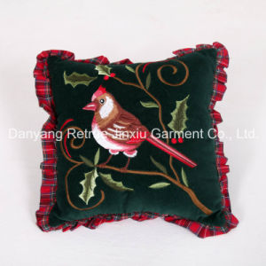Cotton Decorative Designer Traditional Handmade Embroidered Pillow