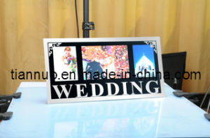 Wedding Glass Photo Frame (YM532G)