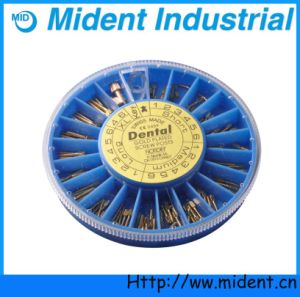 Gold Dental Convenient Stainless Steel Plated Screws Post pictures & photos