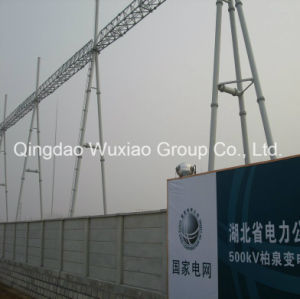 Power Substation Steel Frame Steel Structure pictures & photos
