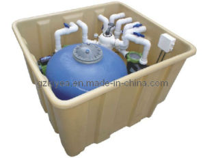 One Compact Pool Filtration Systems (CB16, CB16T) for Residential Pool