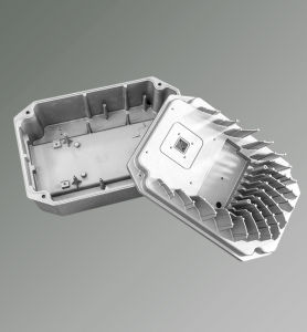 Integrated Machine Die Casting Aluminum Bottom Cover pictures & photos