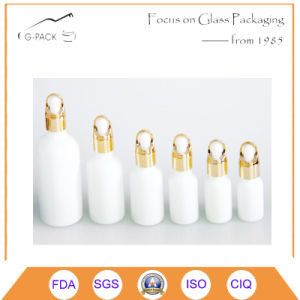 White Glass Perfume Bottle, Essential Oil Bottle with Dropper pictures & photos