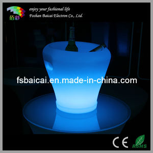 High Quality LED Flashing Ice Bucket with Remote Control Bcr-923b