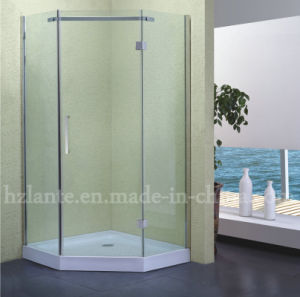 High Quality Shower Fitting Stainless Steel Shower Enclosure with Low Tray (LTS-011) pictures & photos