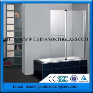 Clear Glass/Frosted/Silk Screen/Tempered Glass Shower Room Glass pictures & photos