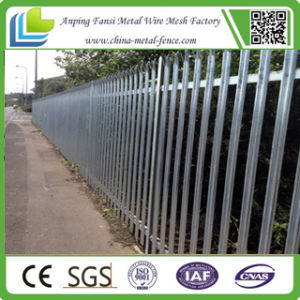 CE Certificate HDG Palisade Fence Panel for Security